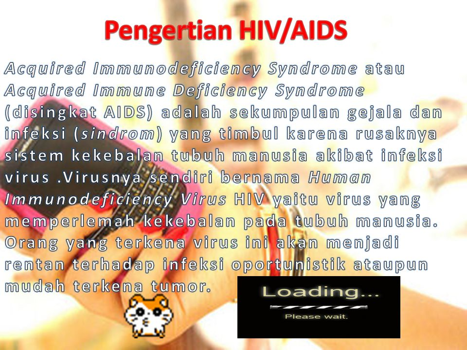 Pengertian HIV/AIDS