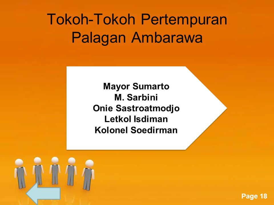 Tokoh-Tokoh Pertempuran Palagan Ambarawa