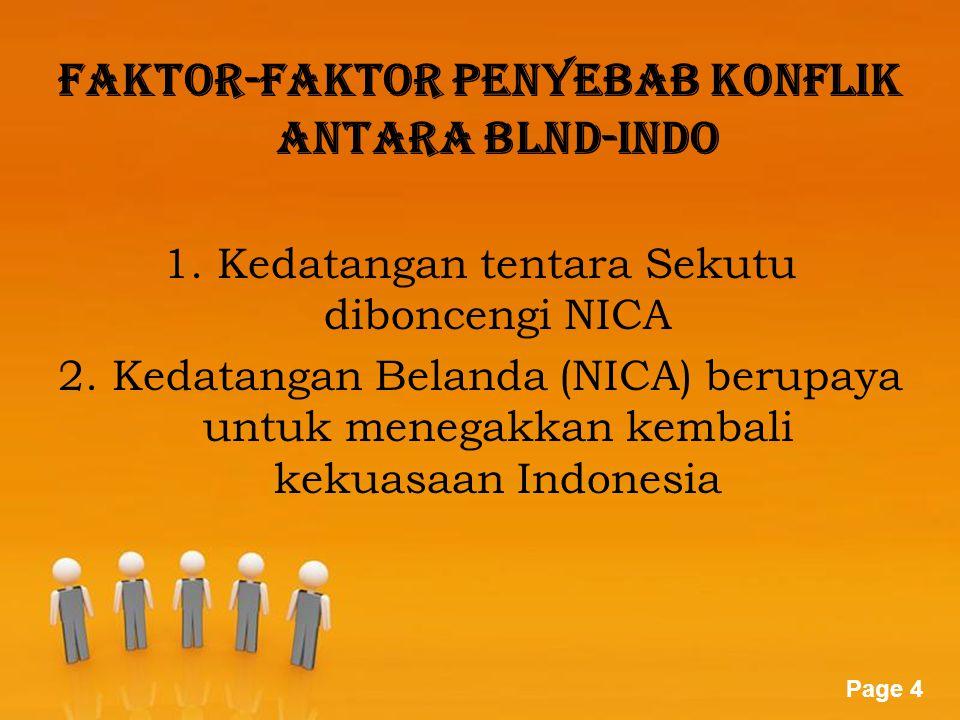 Faktor-faktor penyebab konflik antara blnd-indo