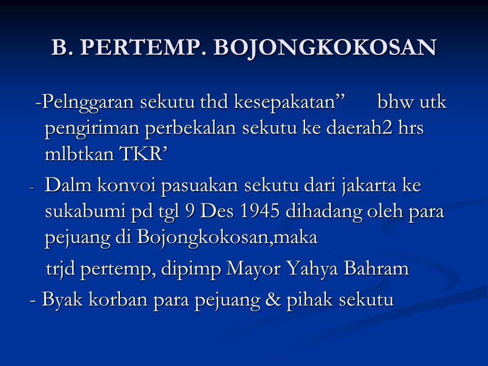 B. PERTEMP. BOJONGKOKOSAN