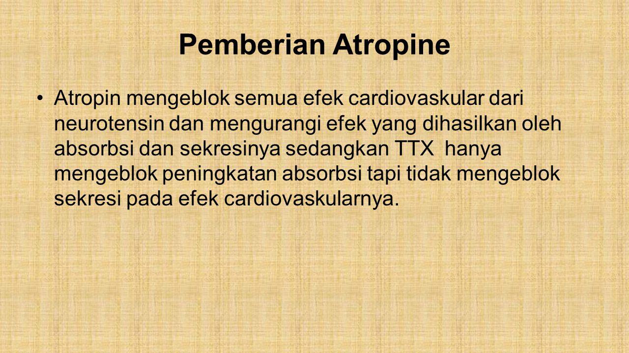 Pemberian Atropine