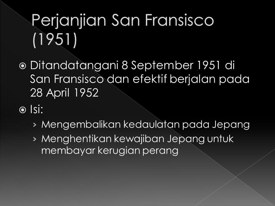 Perjanjian San Fransisco (1951)