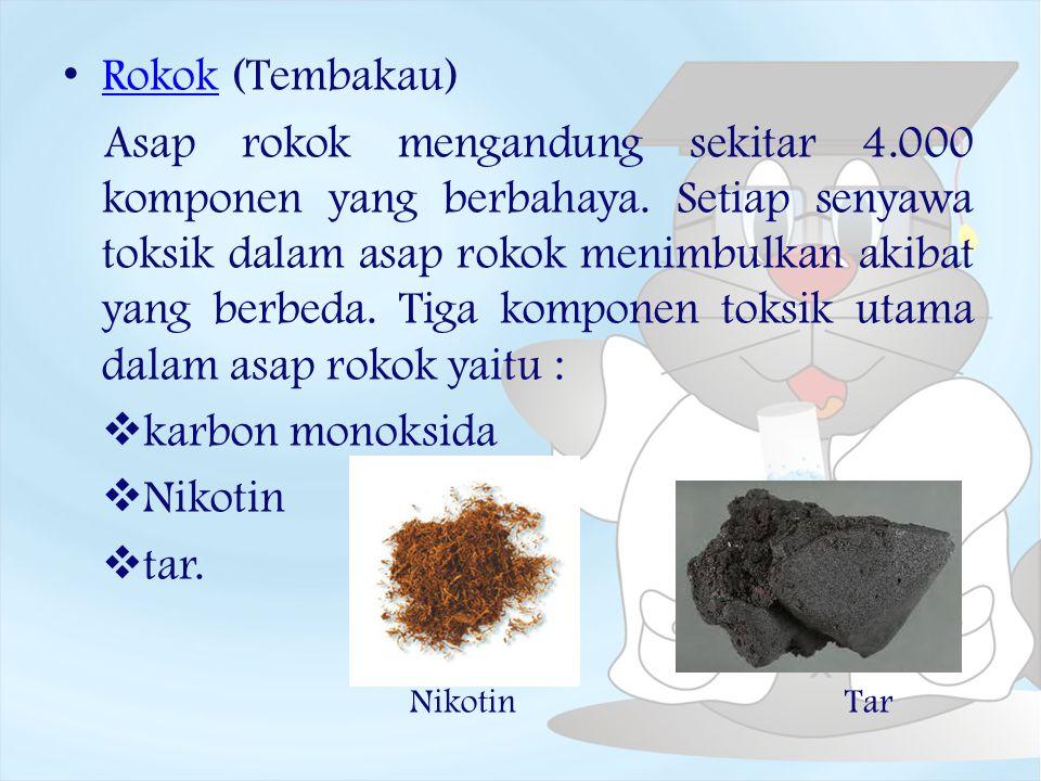 Rokok (Tembakau)