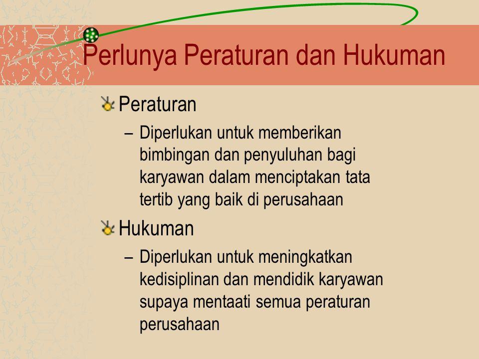 Perlunya Peraturan dan Hukuman