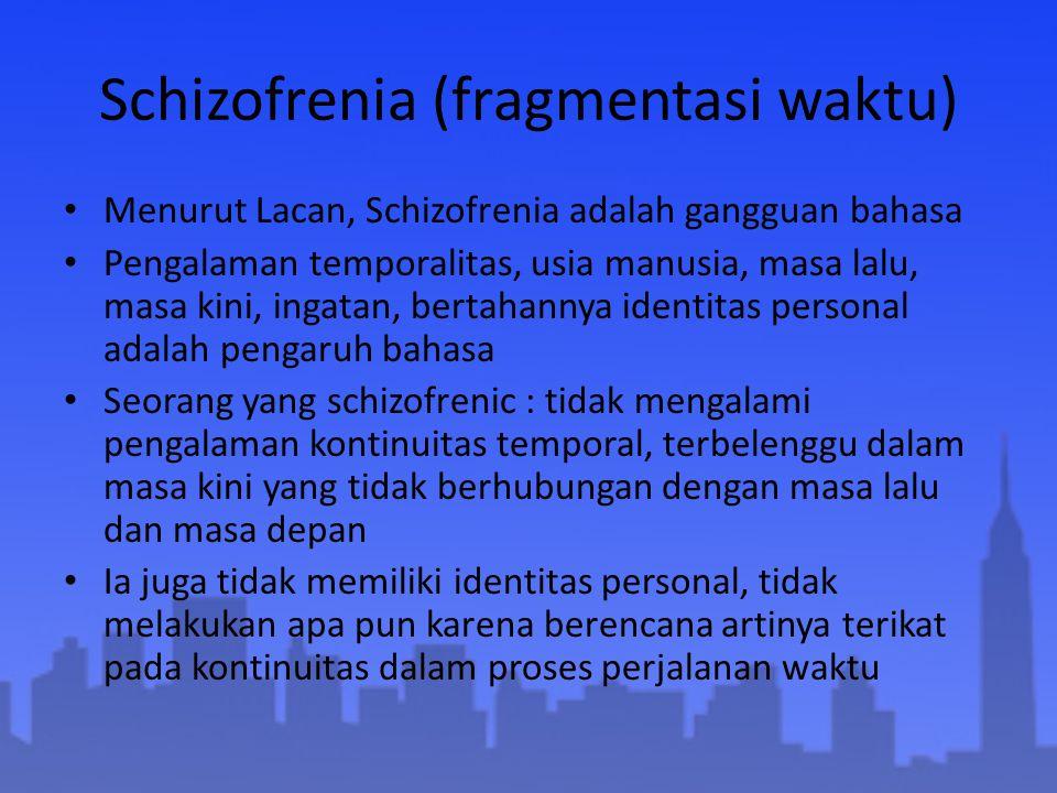 Schizofrenia (fragmentasi waktu)