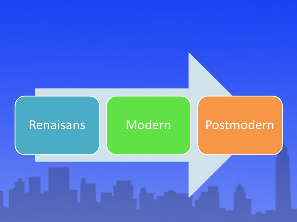 Renaisans Modern Postmodern