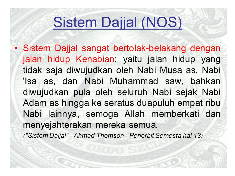 Sistem Dajjal (NOS)
