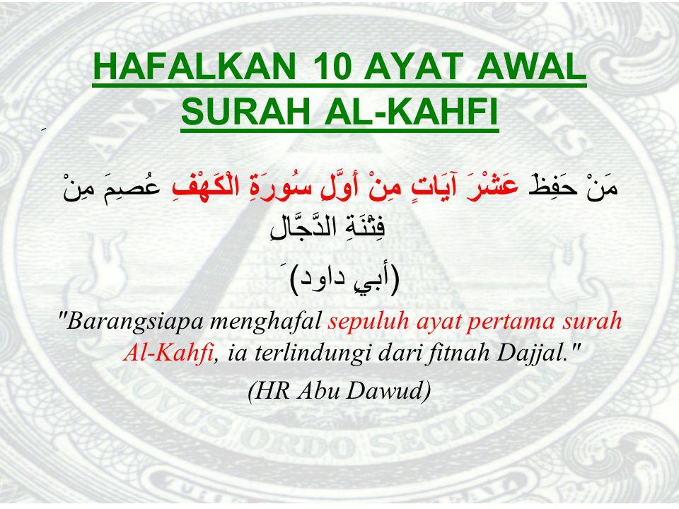 HAFALKAN 10 AYAT AWAL SURAH AL-KAHFI