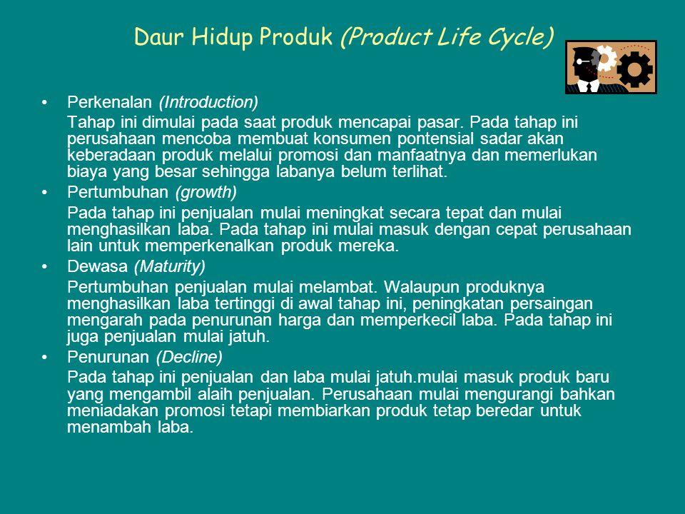 Daur Hidup Produk (Product Life Cycle)