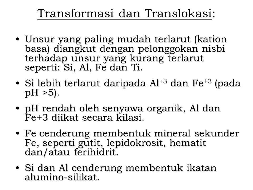 Transformasi dan Translokasi: