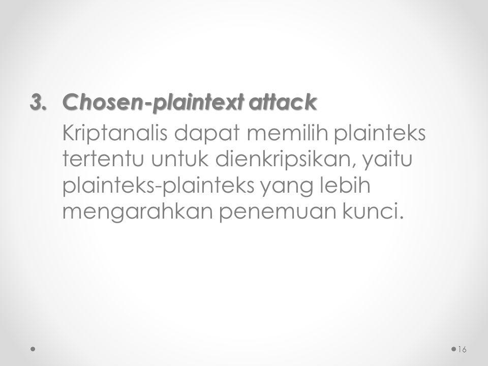 Chosen-plaintext attack