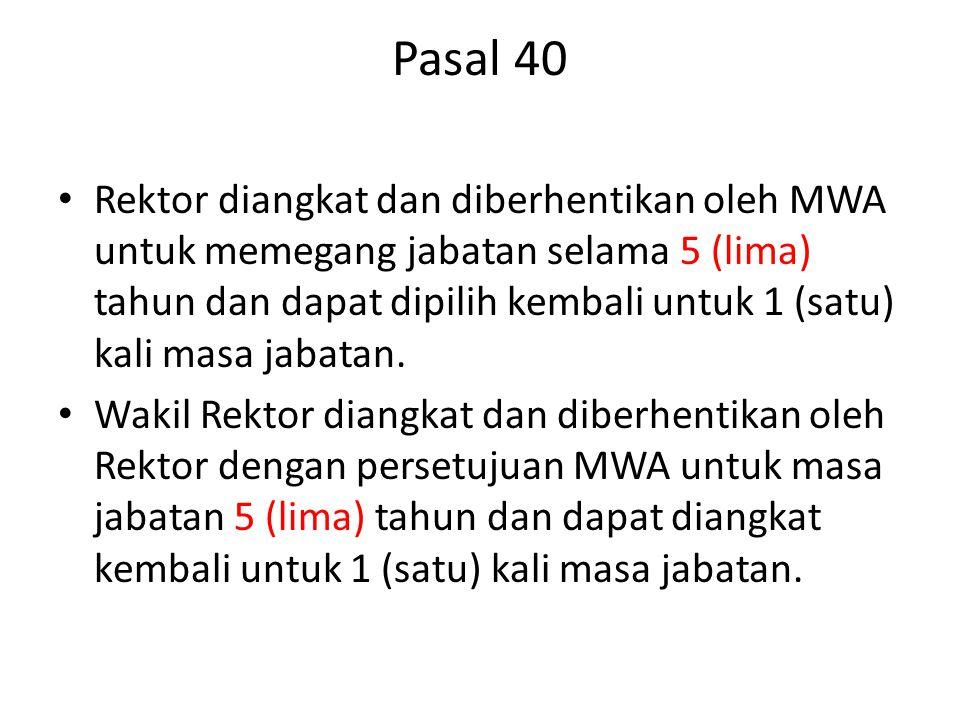 Pasal 40