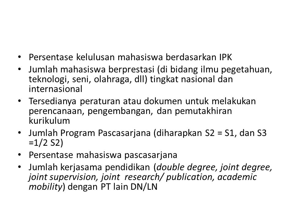 Persentase kelulusan mahasiswa berdasarkan IPK