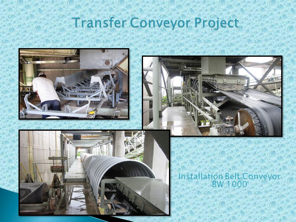 Transfer Conveyor Project