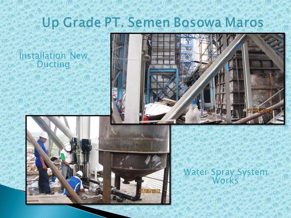 Up Grade PT. Semen Bosowa Maros