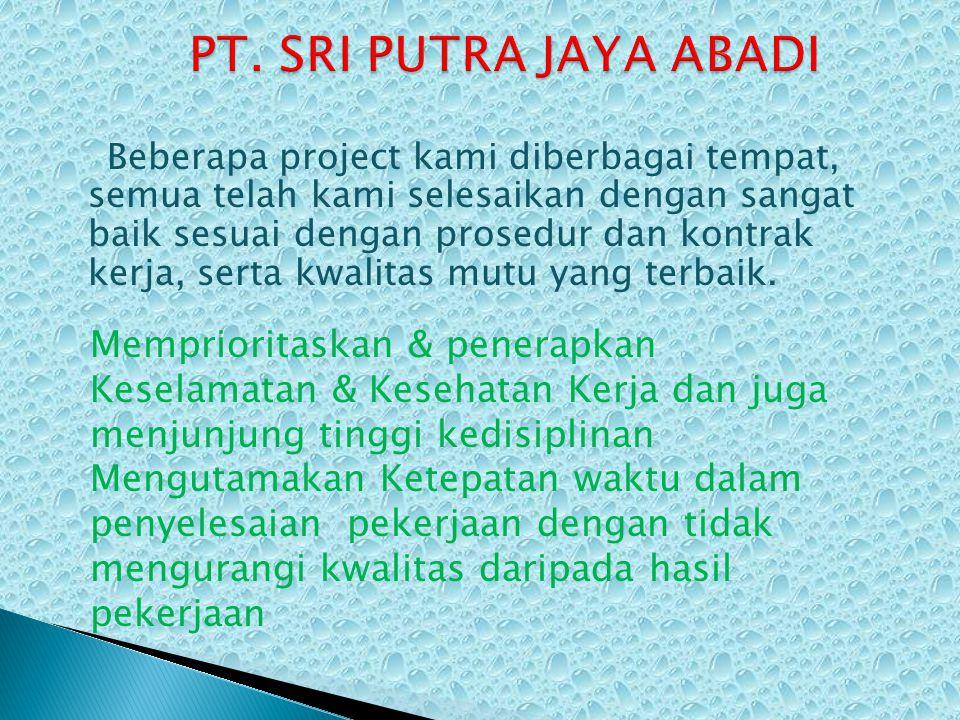 PT. SRI PUTRA JAYA ABADI