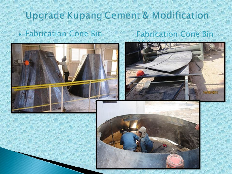 Upgrade Kupang Cement & Modification