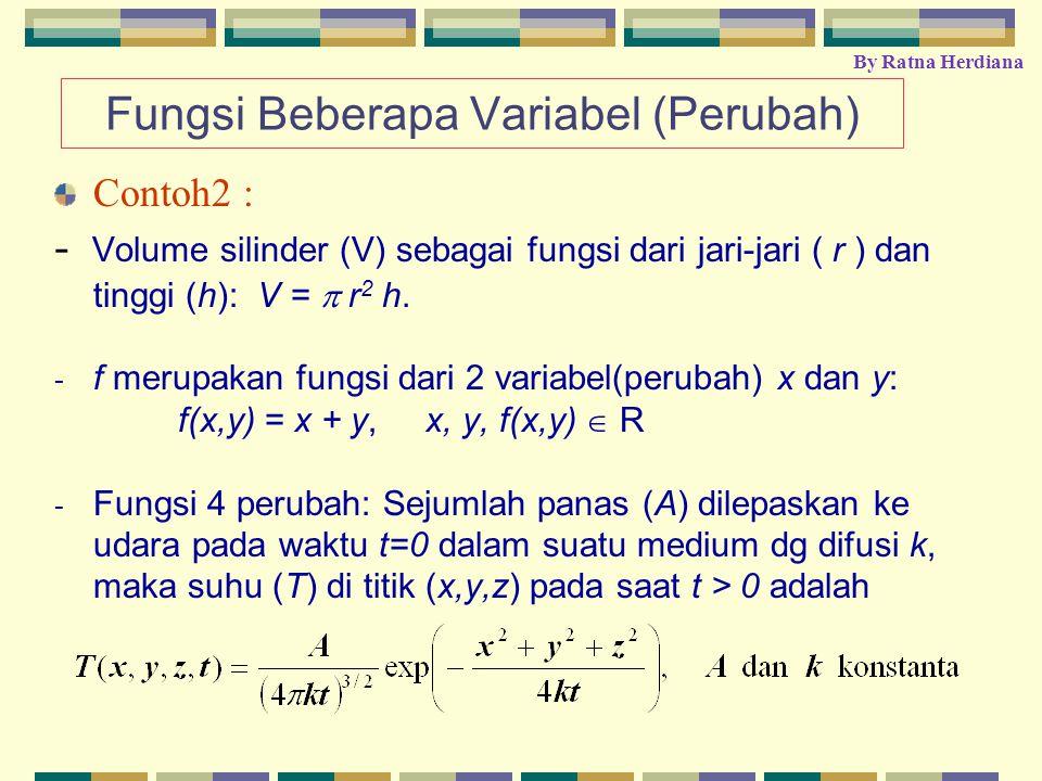 Fungsi Beberapa Variabel (Perubah)