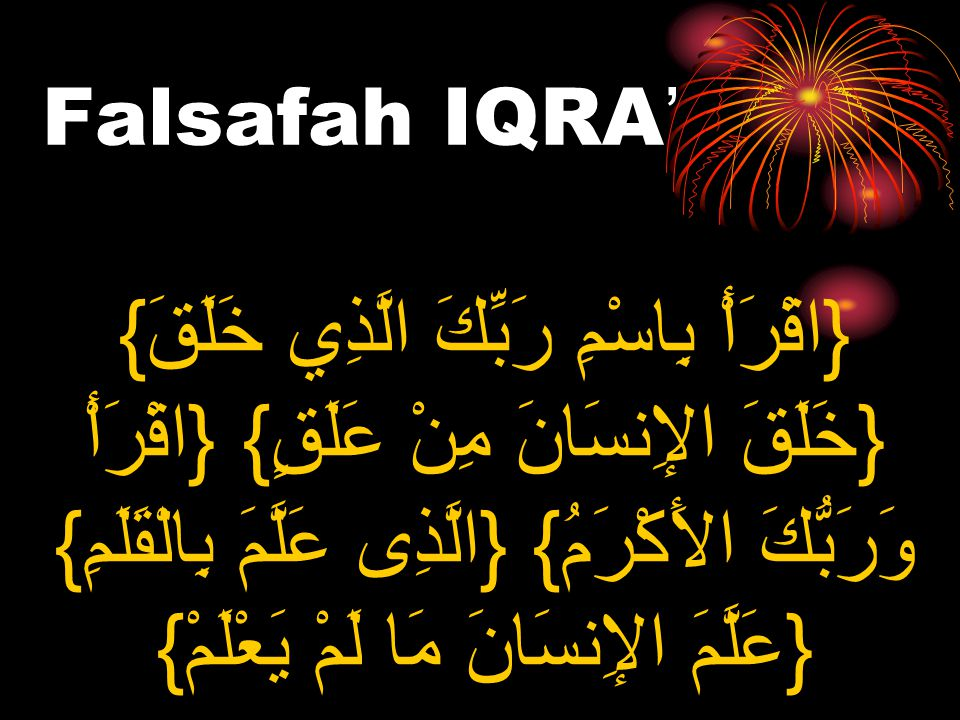 Falsafah IQRA'