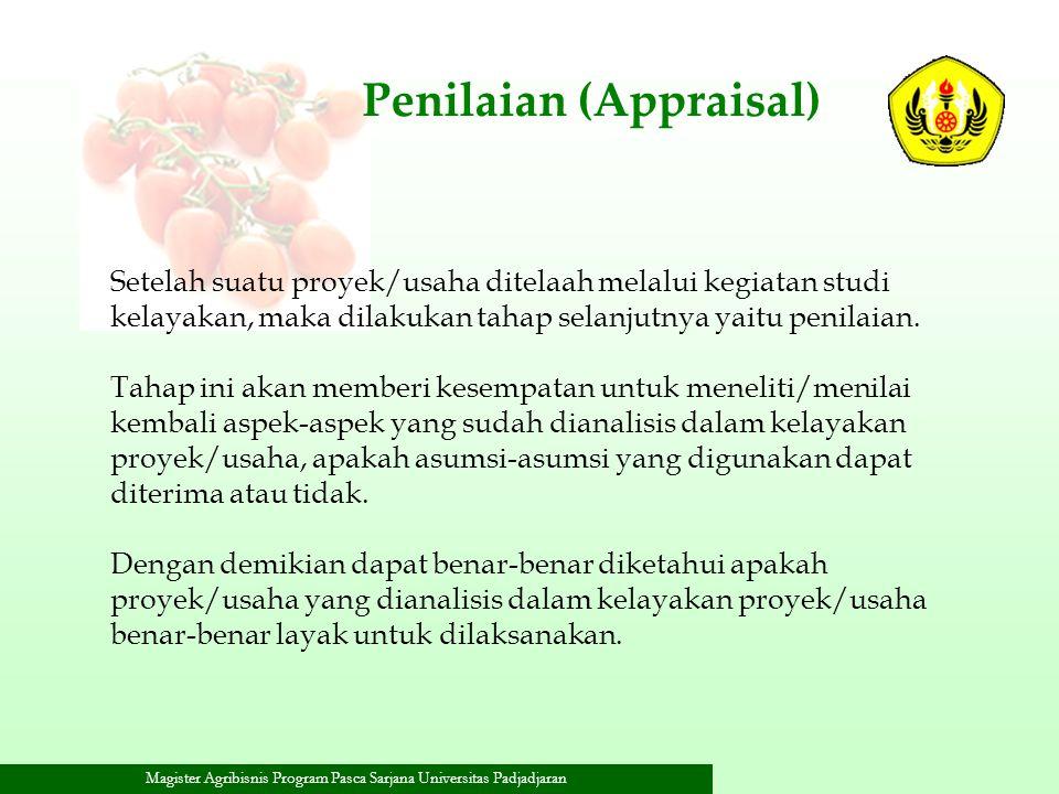 Penilaian (Appraisal)