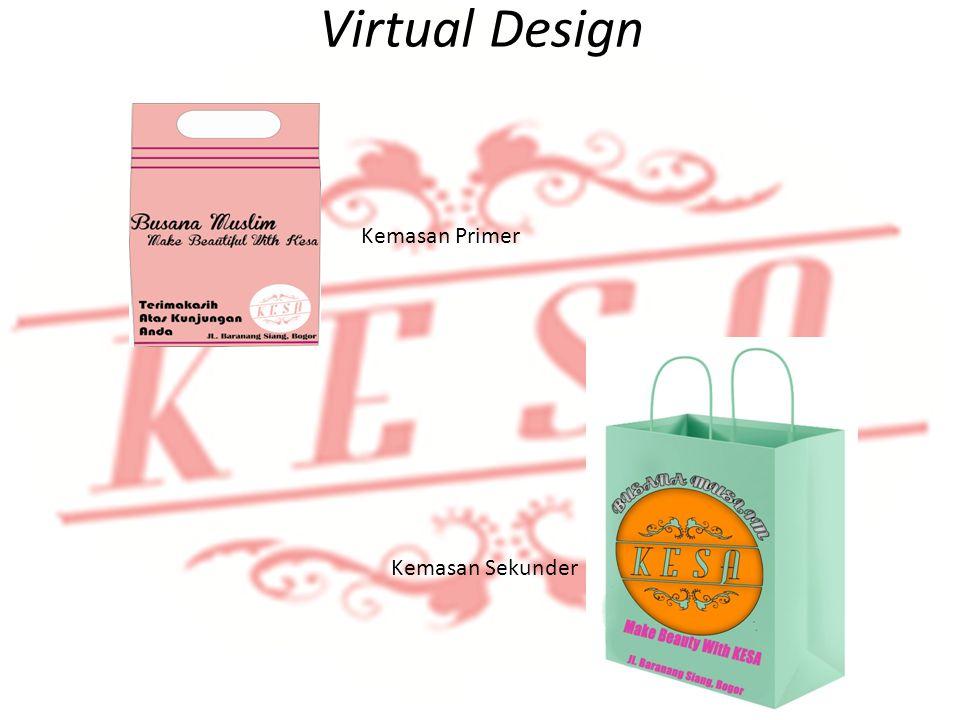 Virtual Design Identifikasi Produk Kemasan Primer Kemasan Sekunder
