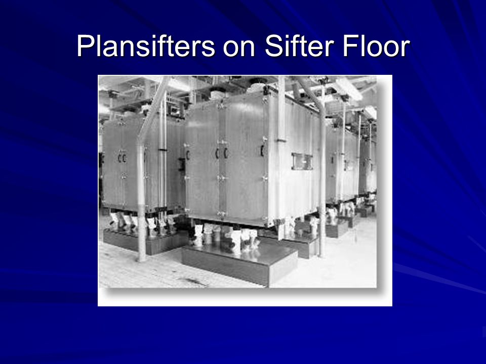 Plansifters on Sifter Floor