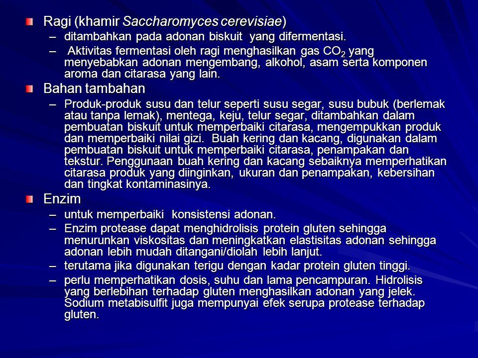 Ragi (khamir Saccharomyces cerevisiae)