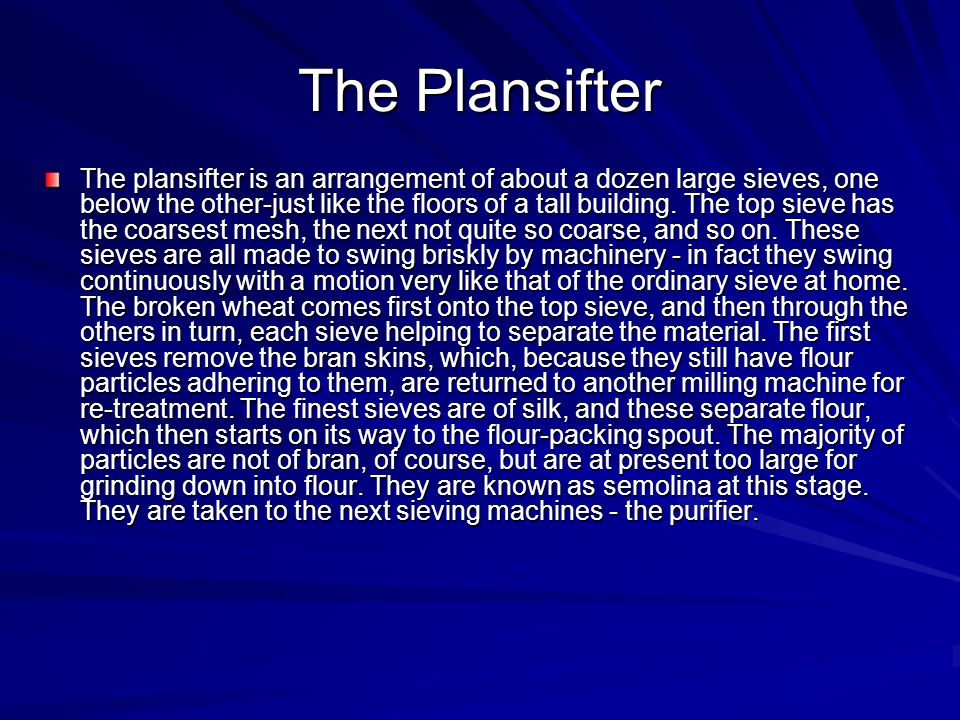 The Plansifter
