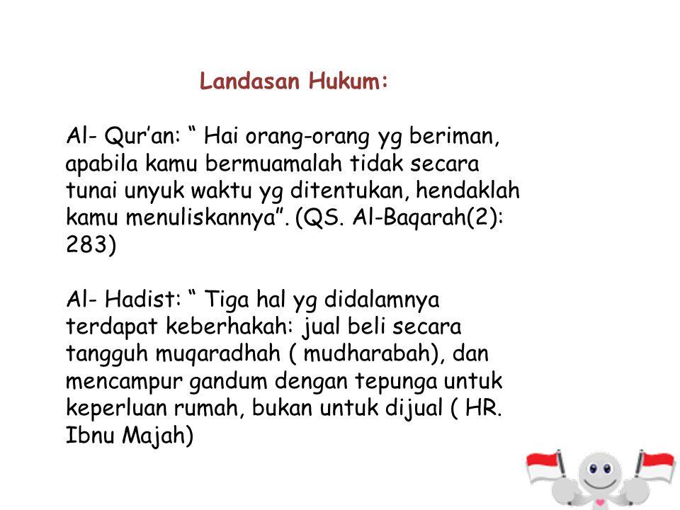 Landasan Hukum: