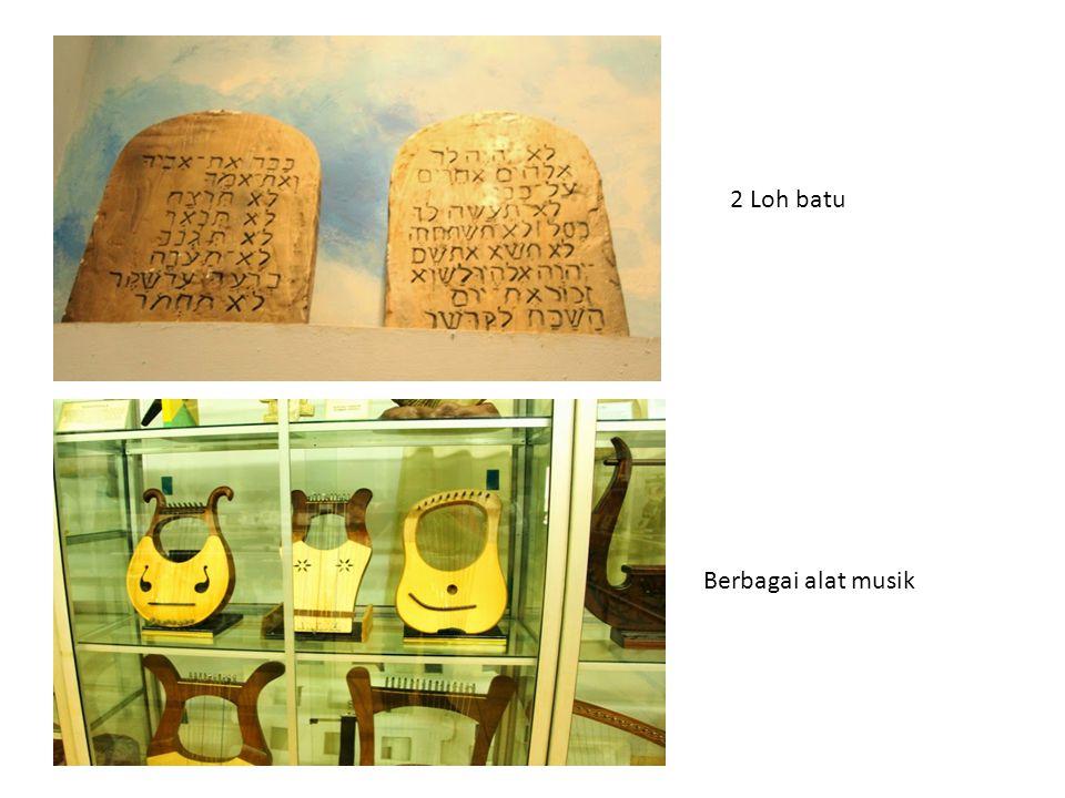 2 Loh batu Berbagai alat musik