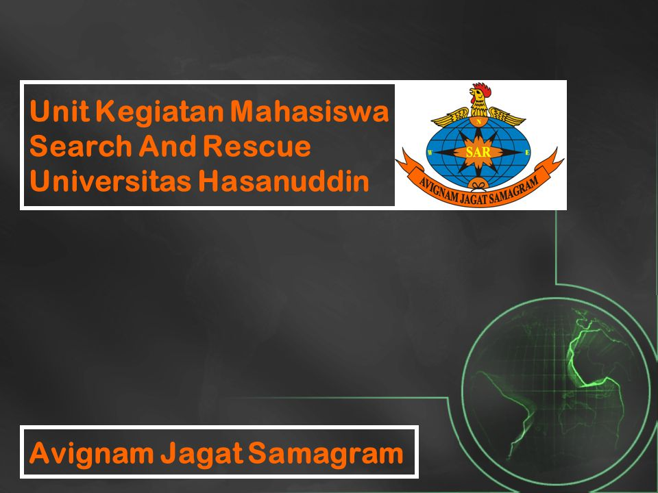 Unit Kegiatan Mahasiswa Search And Rescue Universitas Hasanuddin