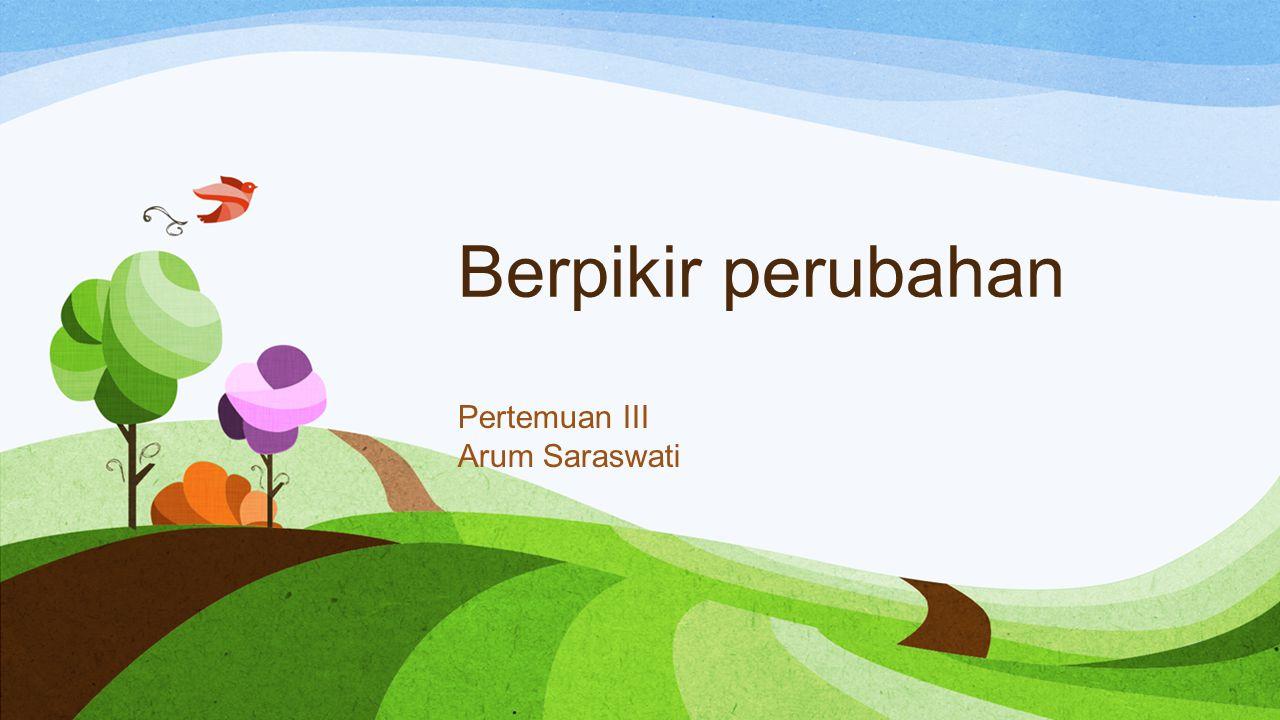 Pertemuan III Arum Saraswati