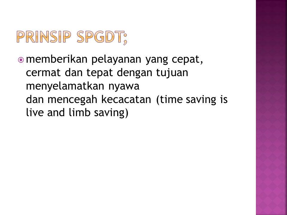 Prinsip SPGDT;