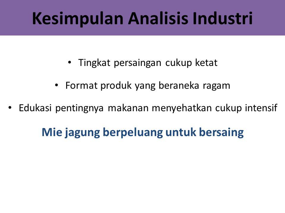 Kesimpulan Analisis Industri