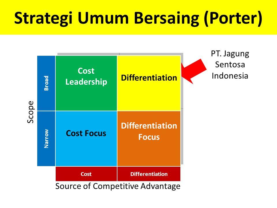Strategi Umum Bersaing (Porter)