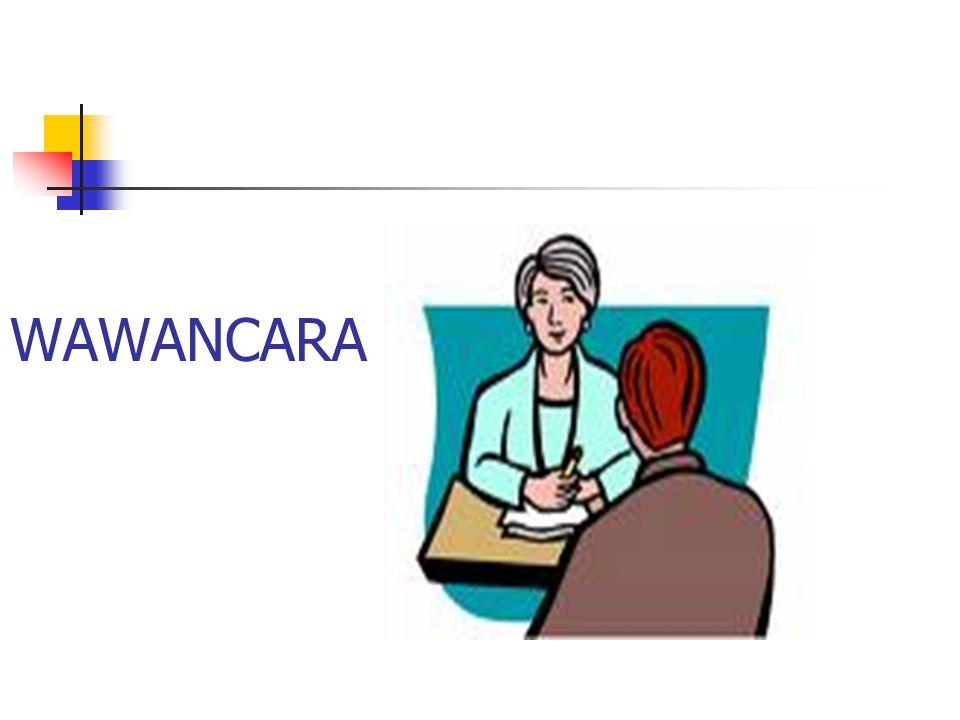 WAWANCARA
