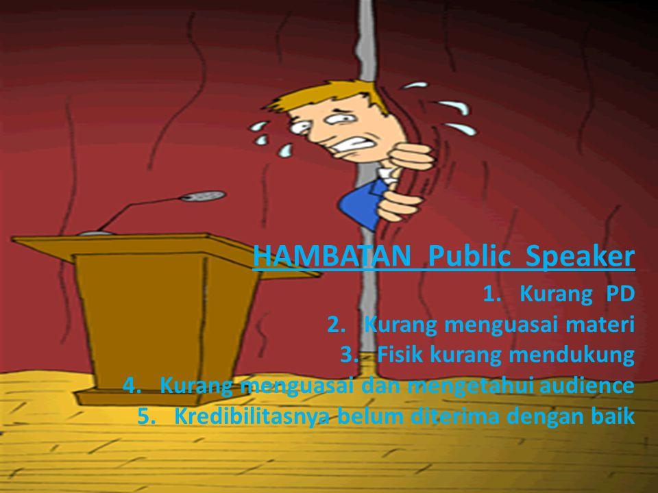 HAMBATAN Public Speaker