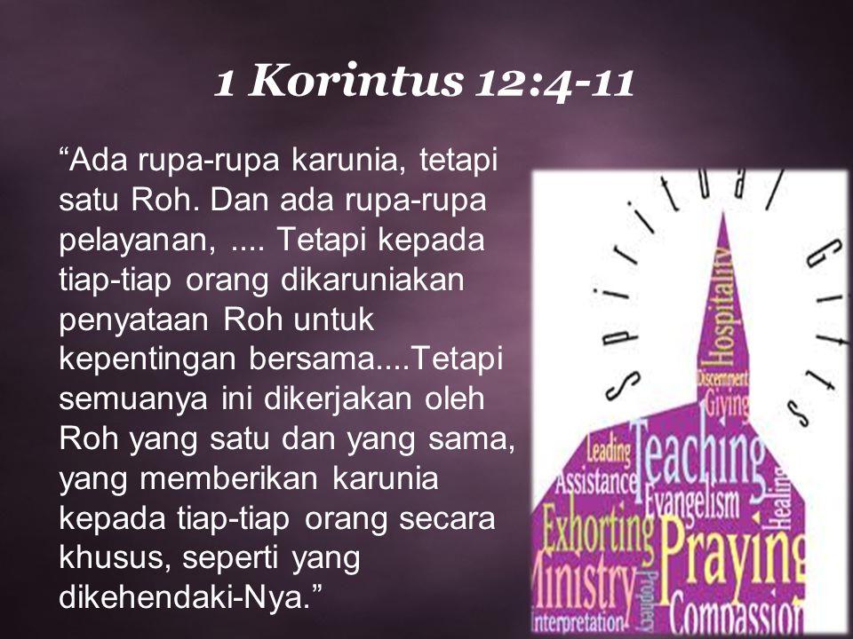 1 Korintus 12:4-11
