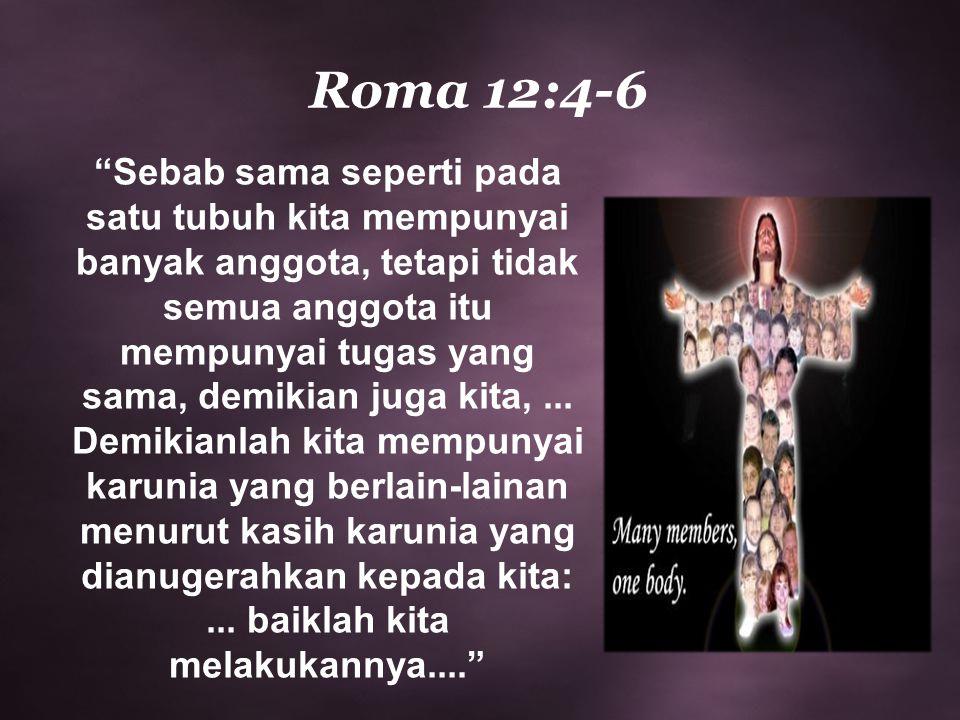 Roma 12:4-6
