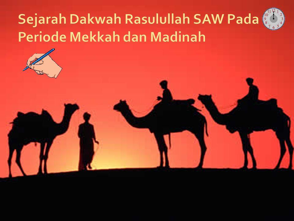 Sejarah Dakwah Rasulullah SAW Pada Periode Mekkah dan Madinah