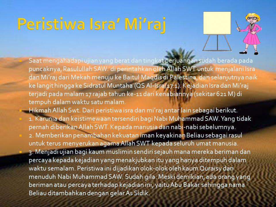 Peristiwa Isra' Mi'raj