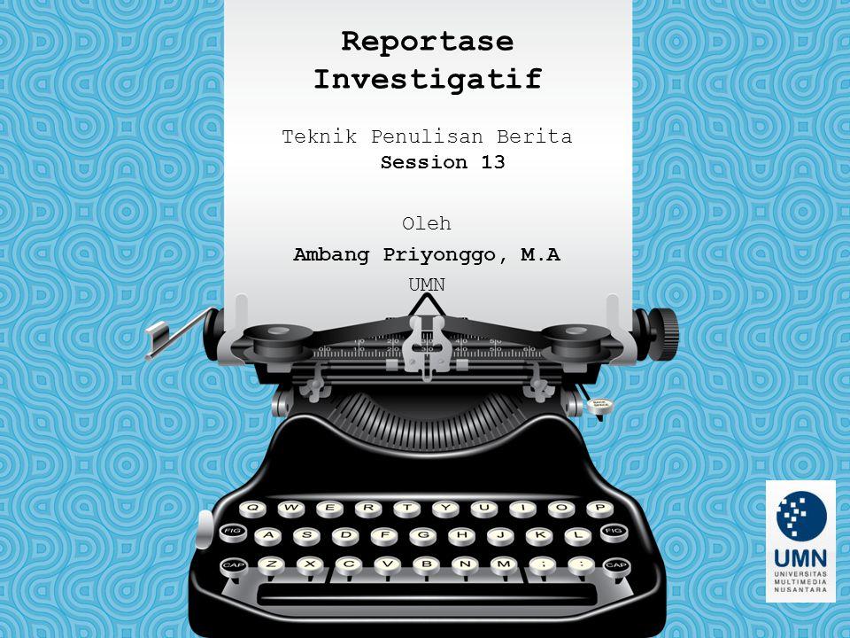 Reportase Investigatif