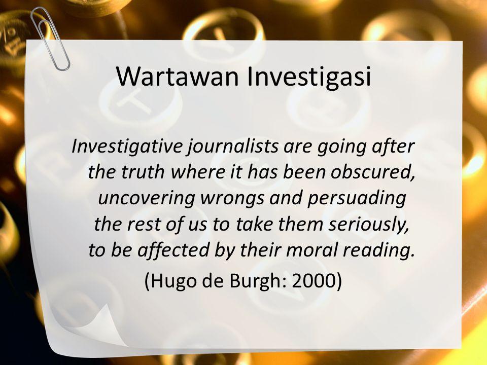 Wartawan Investigasi
