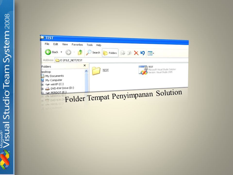 Folder Tempat Penyimpanan Solution