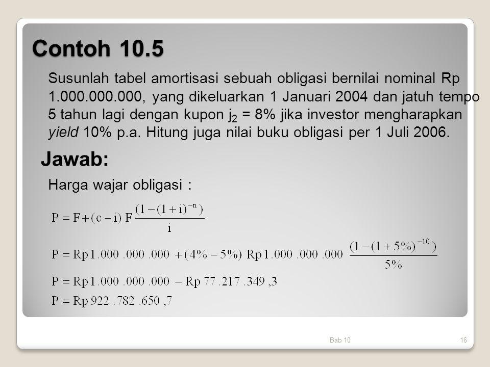 Contoh 10.5
