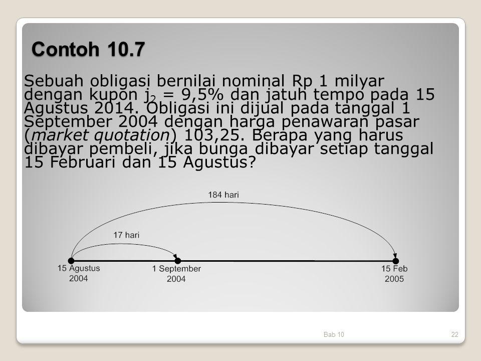 Contoh 10.7