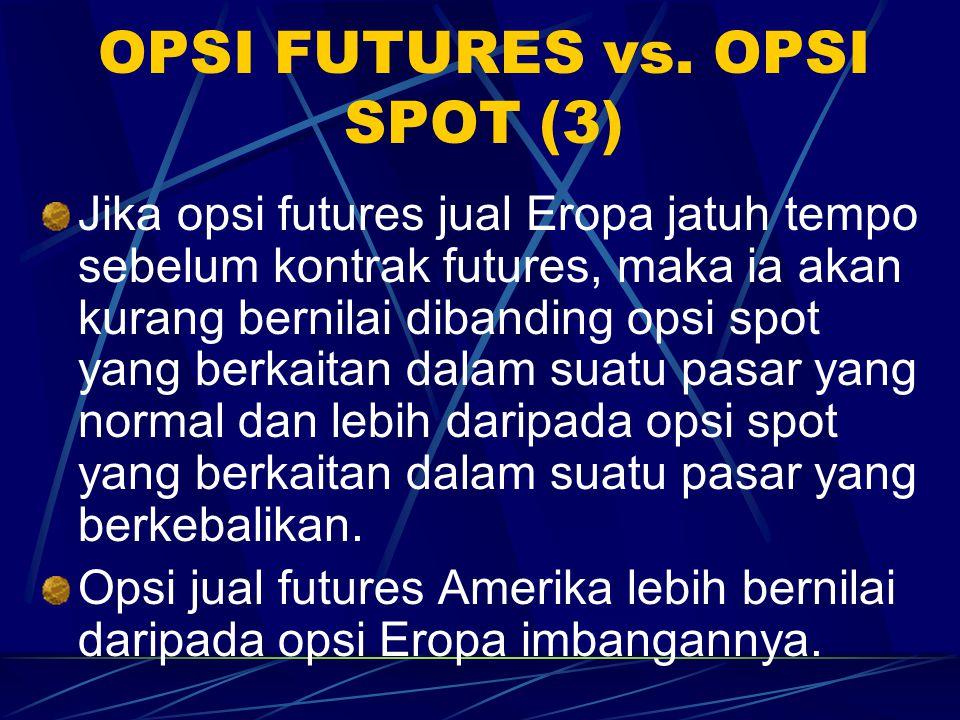 OPSI FUTURES vs. OPSI SPOT (3)