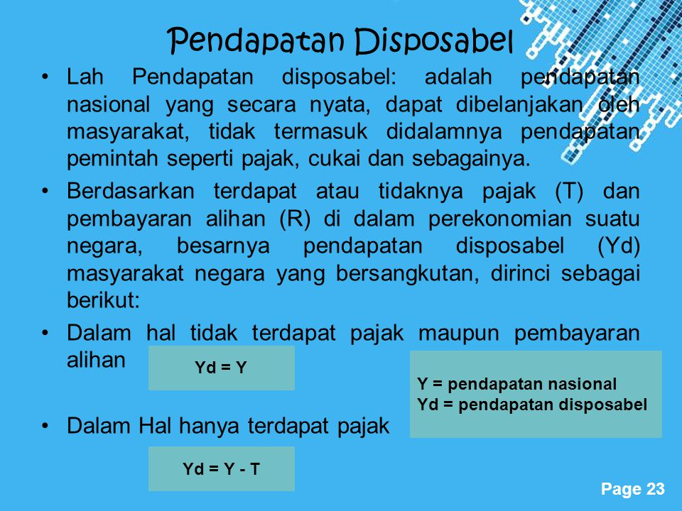 Pendapatan Disposabel