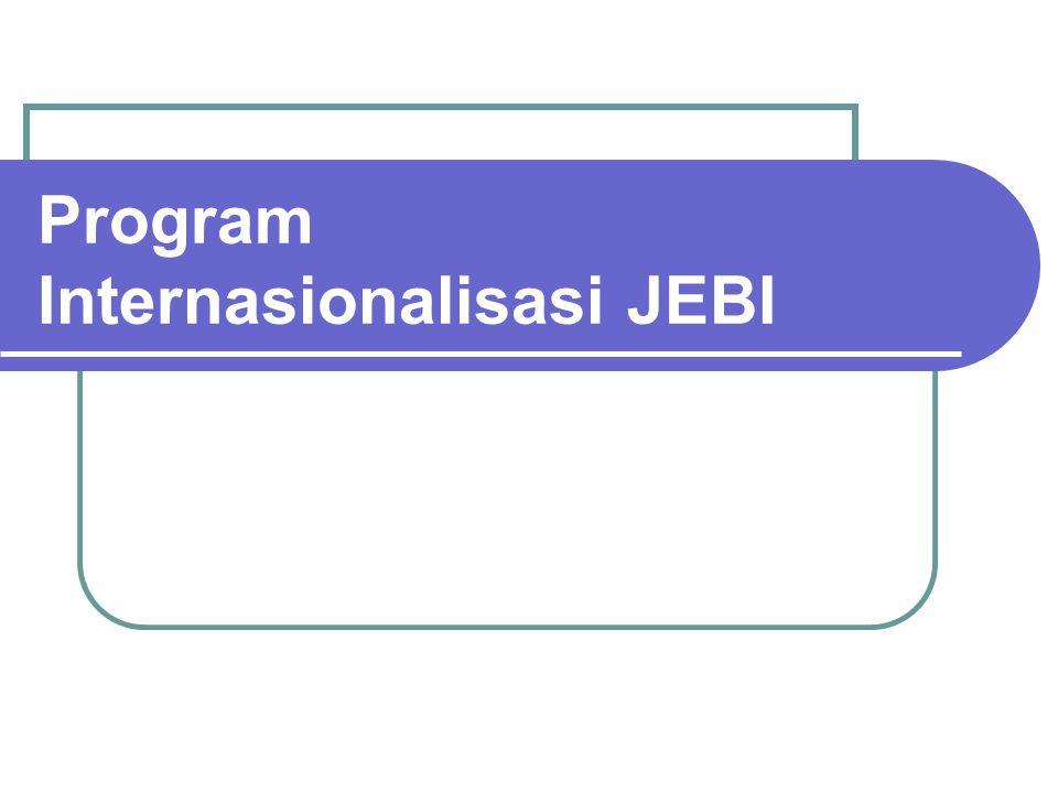 Program Internasionalisasi JEBI