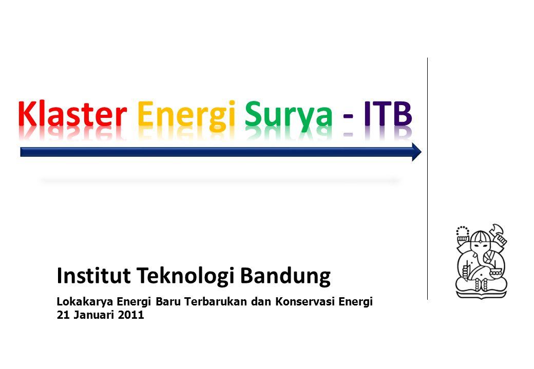 Klaster Energi Surya - ITB